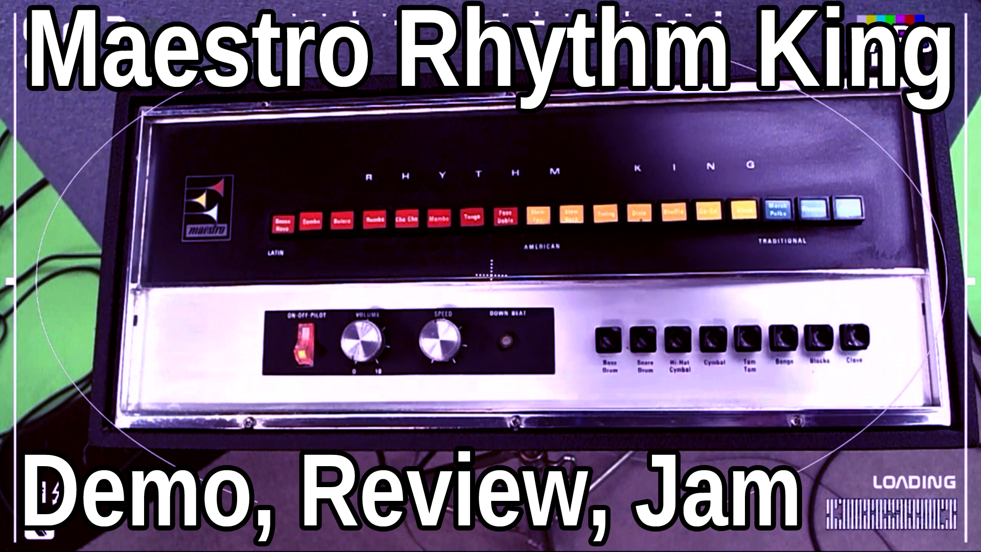 BARS | Introducing the Maestro Rhythm King | Demo, Review, + Jam