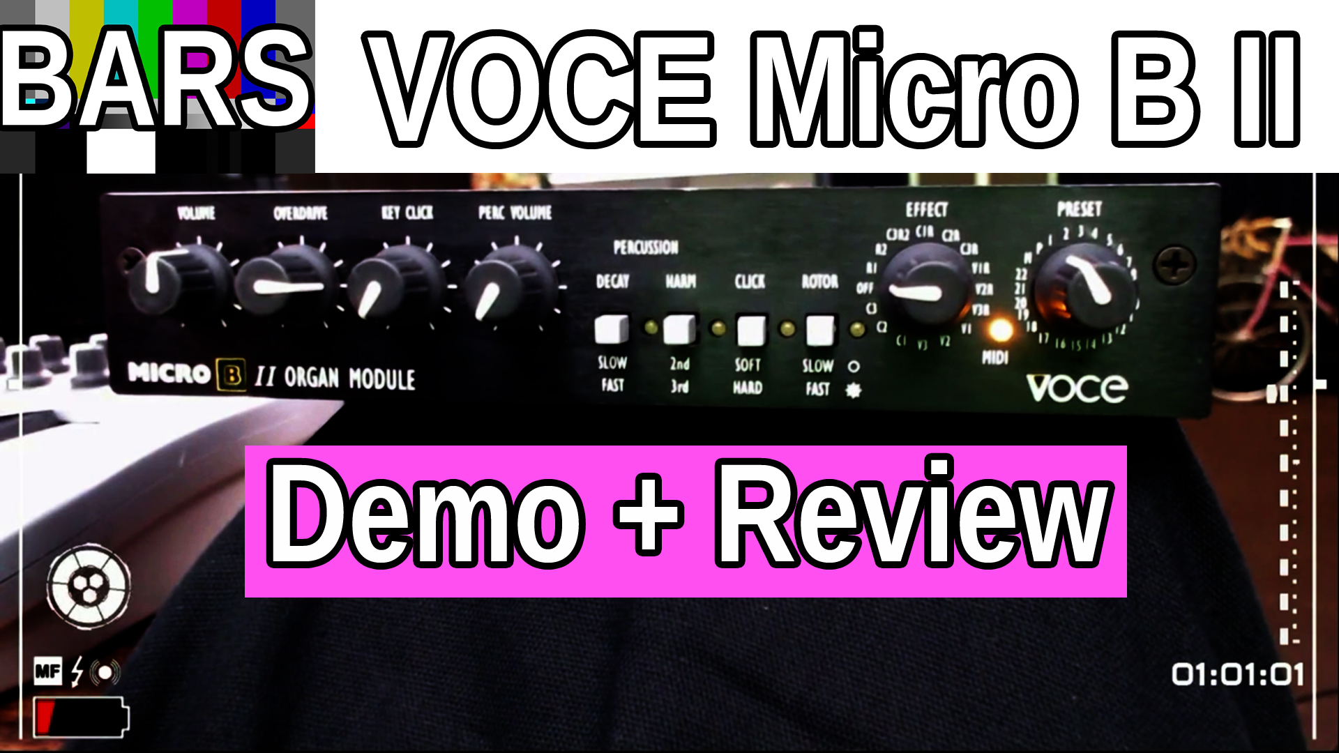 BARS | Introducing the Voce Micro B II | Demo and Review